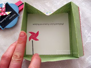 stampin up sunshine sprinkles sweets for the sweet box card
