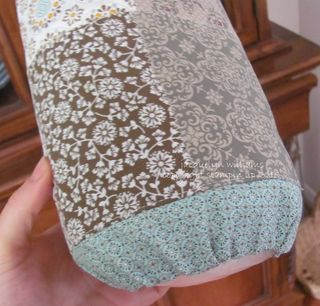stampin up garbage dispenser bag fat quarter
