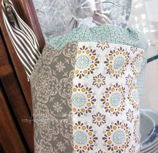 stampin up spice cake sewing