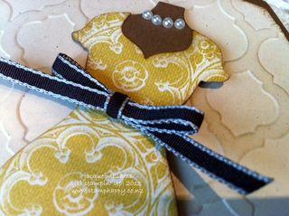 stampin up mosaic soho pearls card