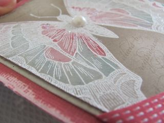 stampin up swallowtail color wash watercolor primrose petals butterfly pearl vintage card
