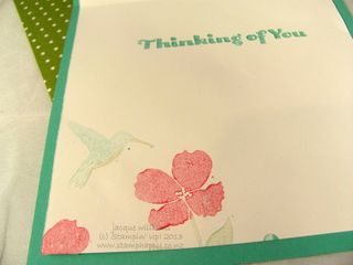stampinup wildflower meadow inside card easy simple freshly made sketches