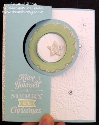 Stampin up merry little christmas