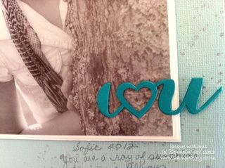 Stampin up labels thinlits layout