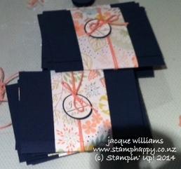 Stampin up sweet sorbet wedding invitations