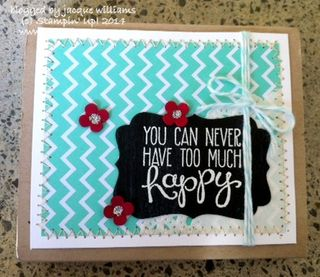 Stampin up fresh prints cookie box gift idea