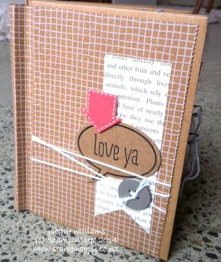Stampin up hip hip hooray mini album