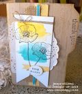 Stampin up happy watercolor