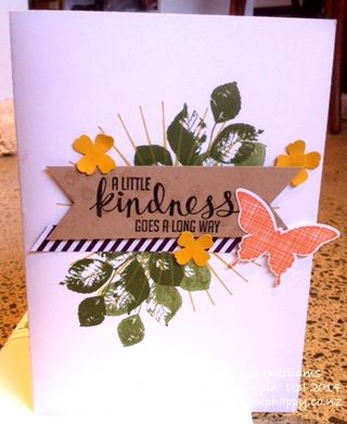 Stampin up kinda eclectic hardware mossy meadow