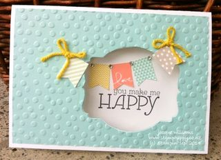 Stampin up banner blast saleabration