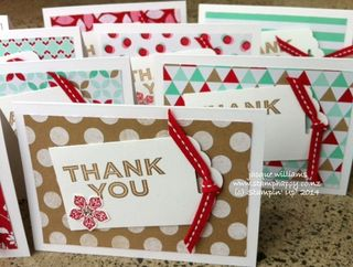 Stampin up fresh prints simply celebrate