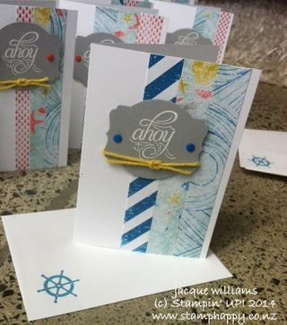 Stampin up masculine quick hello sailor high tide ahoy matye