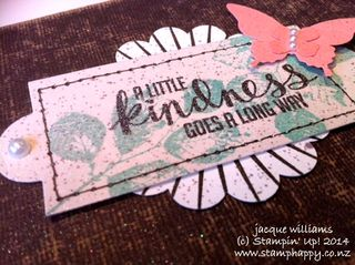 Stampin up kinda eclectic vintage butterfly hardware