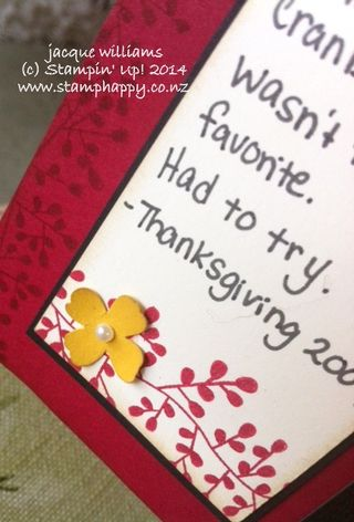 Stampin up bordering blooms itty bitty accents punch pack