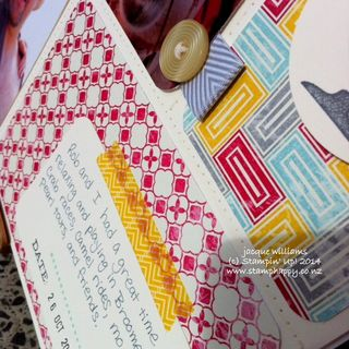 Stampin up flashback project life real red masculine