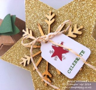 Stampin up many merry stars christmas kit