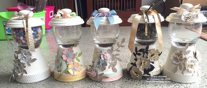 Stampin up flower frenzy sahara sand washi tape gumball machine