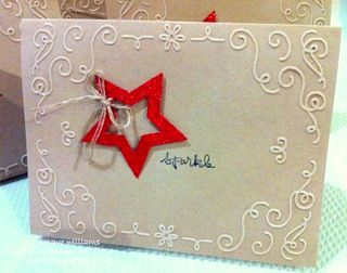 Stampin up filigree frame good greetings easy