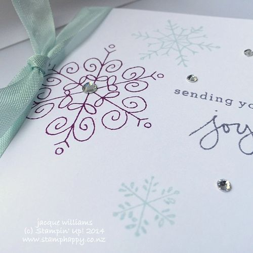 Stampin up endless wishes blackberry bliss easy