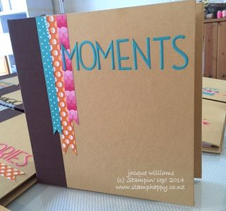 Stampin up project life Everyday Adventure album