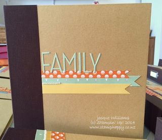 Stampin up project life little moments album
