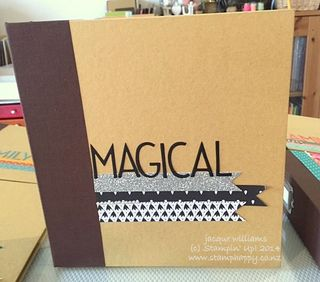 Stampin up project life love story album