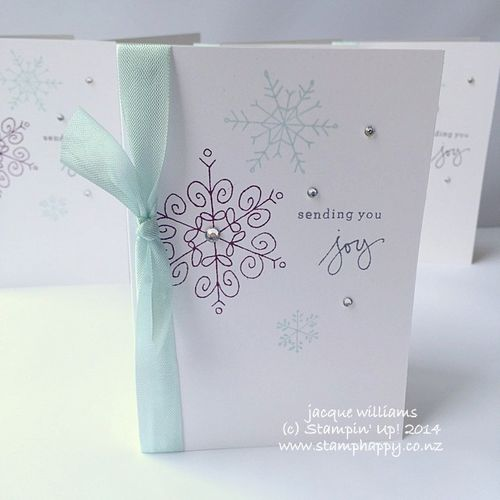 Stampin up endless wishes quick easy