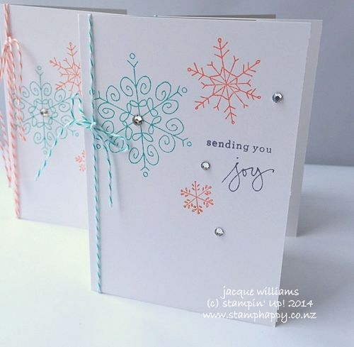 Stampin up endless wishes quick card bermuda bay